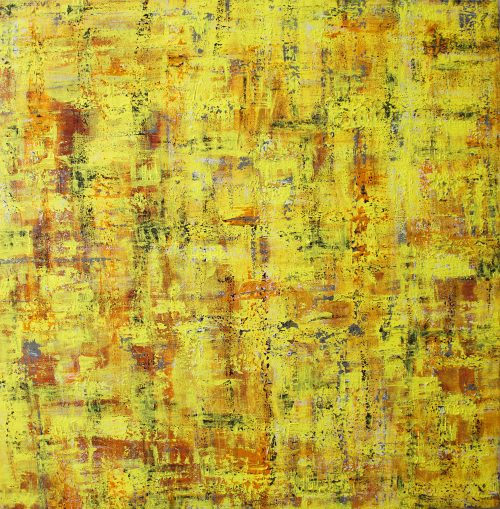 Abstract Painting, Yellow